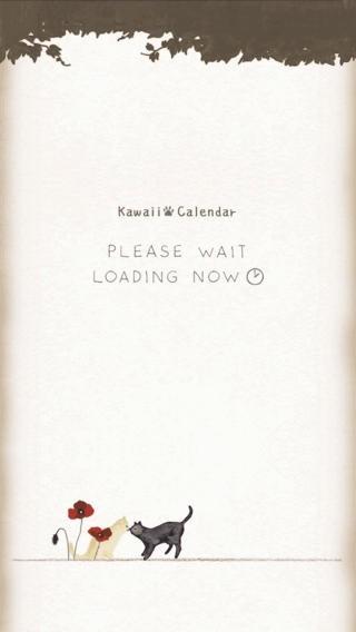 カワイイ猫カレンダー01