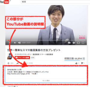 youtube,動画,説明文,書き方